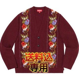 シュプリーム(Supreme)の【専用】Supreme Floral Stripe Cardigan M(カーディガン)
