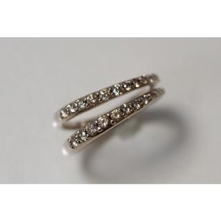 カシケイ K18 マーシネス ダイヤモンド 0.60ct リング ブラウンダイヤ(リング(指輪))