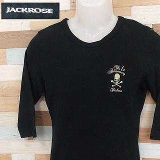 ジャックローズ(JACKROSE)の【JACKROSE】 美品 ジャックローズ 七分丈Tシャツ 綿100% サイズL(Tシャツ/カットソー(七分/長袖))