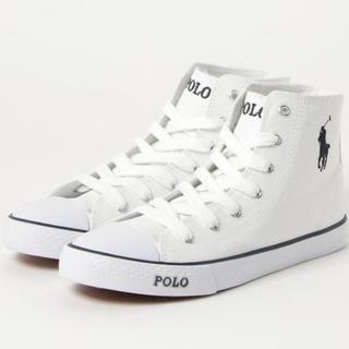 ポロラグビー(POLO RUGBY)の【POLO RALPH LAUREN】ポロラルフローレン ハイカットスニーカー靴(スニーカー)