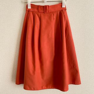 スピックアンドスパン(Spick and Span)のスピックアンドスパン オレンジスカート(ロングスカート)