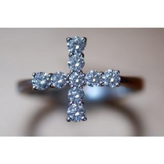 K18 ミキモト ダイヤモンド 0.46ct リング 8号 御木本(リング(指輪))