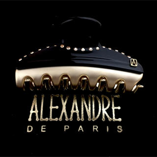 Alexandre de Paris - アレクサンドルドゥパリ クリップ ヴァンドーム ブラック スワロ 7.5