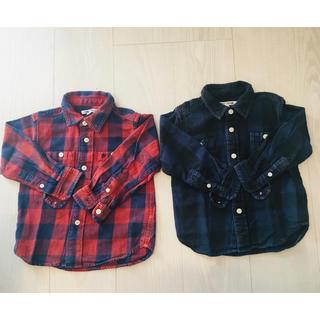ビームス(BEAMS)の♡BEAMS  チェックシャツ 2枚セット♡(Tシャツ/カットソー)