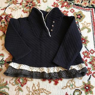 ビケット(Biquette)のビケット  トレーナー 110 紺(Tシャツ/カットソー)