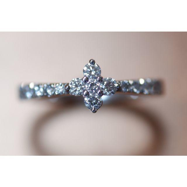 MIKIMOTO(ミキモト)のK18 ミキモト ダイヤモンド 0.41ct リング 11号 御木本 レディースのアクセサリー(リング(指輪))の商品写真