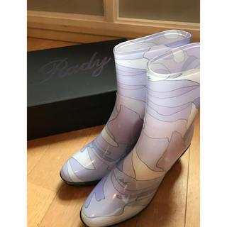 レディー(Rady)のRady ノベルティ レインシューズ パープル(レインブーツ/長靴)
