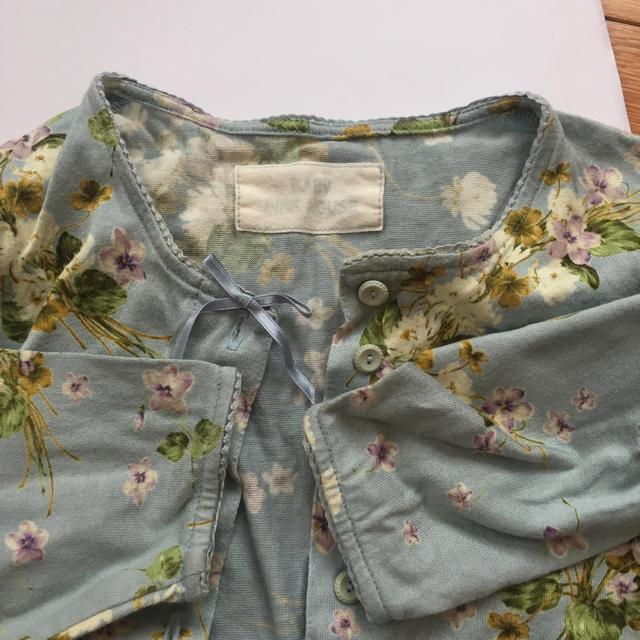 PINK HOUSE(ピンクハウス)のベビーピンクハウス カーディガン SS 80 90  キッズ/ベビー/マタニティのベビー服(~85cm)(カーディガン/ボレロ)の商品写真