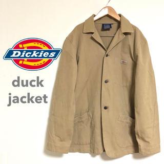 Dickies - ディッキーズ Dickies 3つボタンワークジャケット ダック キャンパス地