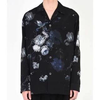 LAD MUSICIAN - ラッドミュージシャン 18ss 花柄パジャマシャツ
