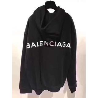 Balenciaga - [2枚9000円送料込み]BALENCIAGA パーカー XLサイズ 黒