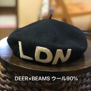 ビームス(BEAMS)の日本製DEER×BEAMS (ビームス )メンズ レディース 古着 ベレー帽 (ハンチング/ベレー帽)