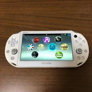 プレイステーションヴィータ(PlayStation Vita)のPS VITA PCH-2000(携帯用ゲーム機本体)