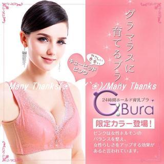 ピンク70B★育乳ナイトブラ★G-bura★他サイズや色もお尋ね下さい★新品(ブラ)