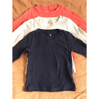 UNIQLO - UNIQLO 長袖Tシャツ 3枚セット