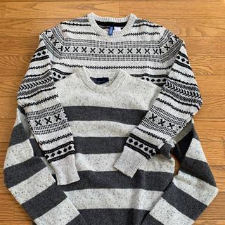 ギャップ(GAP)のH&M  GAPセーター二枚セット(ニット/セーター)