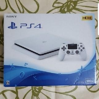 PlayStation4 - お値下げしました PlayStation4 グレイシャー・ホワイト 500GB