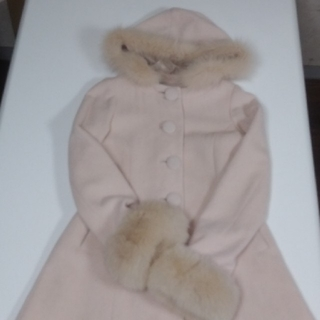 セシルマクビー(CECIL McBEE)の24日迄価格!Fox付きコート(毛皮/ファーコート)