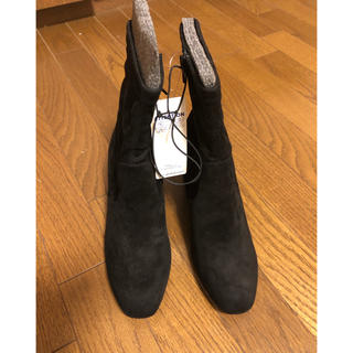 ジーユー(GU)の新品 GUのスエードタッチストレッチブーツ L(ブーツ)
