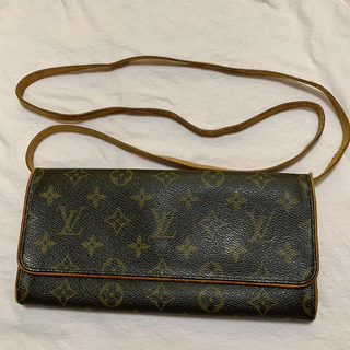 LOUIS VUITTON - Louis Vuitton モノグラム ポシェットツインGM  即納