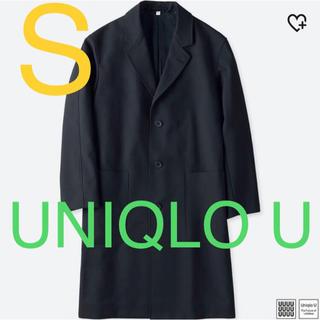 ユニクロ(UNIQLO)の【美品】UNIQLO U ウールブレンドチェスターコート(チェスターコート)