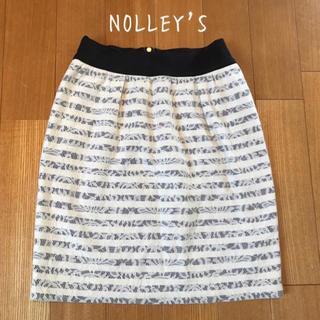 NOLLEY'S - NOLLEY'Sレース柄スカート♡
