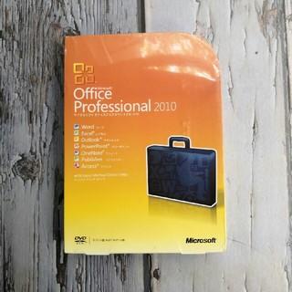 マイクロソフト(Microsoft)のMicrosoft Office Professional 2010(PC周辺機器)