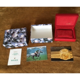 ロレックス(ROLEX)のロレックス ROLEX レディース 箱  ギャランティカード カタログ(腕時計)