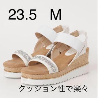 サンダル 白 23.5  M(サンダル)