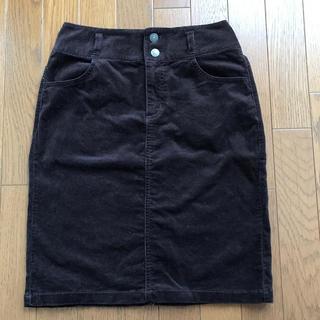 ハニーズ(HONEYS)のHoneys  CINEMA CLUB コーデュロイスカート M(ひざ丈スカート)