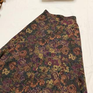 Grimoire - vintage 花柄 クラシカルヴィンテージレトロスカート