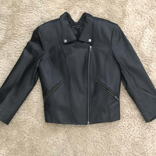 セオリー(theory)のtheory セオリー 革ジャケット ブラック(ライダースジャケット)