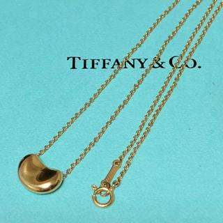 Tiffany & Co. - ティファニー ビーンズ ネックレス k18