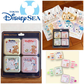 Disney - Duffy and Friends / 4種キャンディーSサイズ袋4枚付き