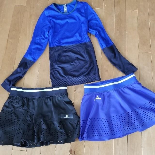 adidas by Stella McCartney(アディダスバイステラマッカートニー)のアディダス ステラマッカートニー シームレススリーブ スポーツ/アウトドアのテニス(ウェア)の商品写真