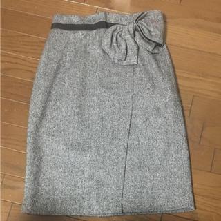 JUSGLITTY - リボン巻き風タイトスカート