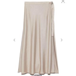 FRAY I.D - FRAY I.D♡シルキーツイルスカート
