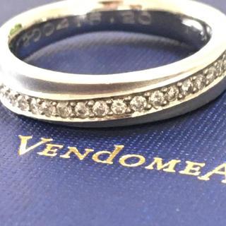 ヴァンドームアオヤマ(Vendome Aoyama)のヴァンドーム ダイヤモンドリング 指輪 pt950 VENDOME リング(リング(指輪))