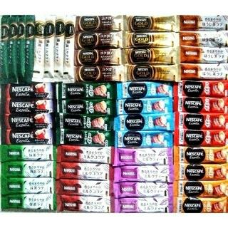 Nestle - ネスカフェスティックコーヒー13種52本