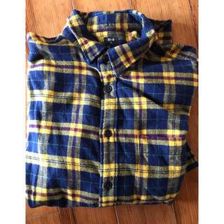 UNIQLO - ユニクロ ネルシャツ Lサイズ