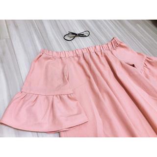 ピンク ドレス(ひざ丈ワンピース)