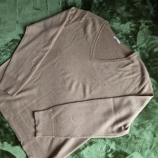 GU - GU カシミヤタッチVネックセーター XL
