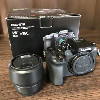 Panasonic - Lumix DMC-G7H H-H025M-K
