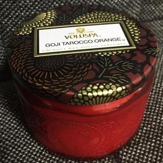 ボルスパ(VOLUSPA)のボルスパ VOLUSPA  キャンドル  ゴージ&タロッコオレンジ(キャンドル)
