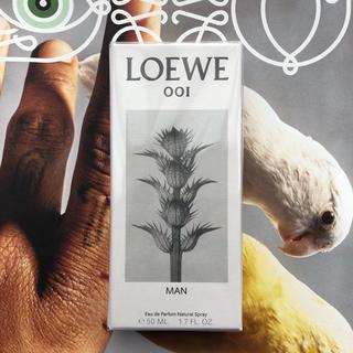 ロエベ(LOEWE)のロエベ man 001 オードパルファム 香水(ユニセックス)