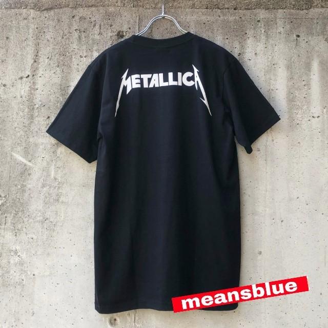 ONE OK ROCK(ワンオクロック)の半袖 XL METALLICA  反逆者 Tシャツ メンズのトップス(Tシャツ/カットソー(半袖/袖なし))の商品写真