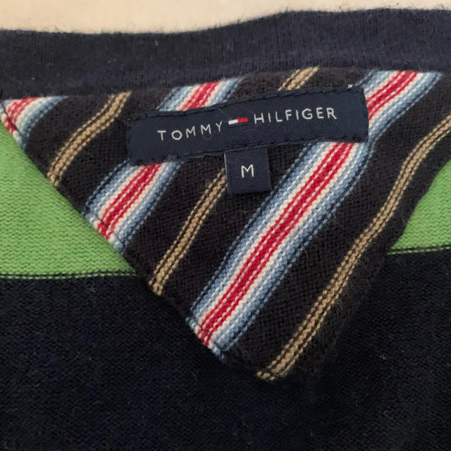 TOMMY HILFIGER(トミーヒルフィガー)のTOMMY HILFIGER ボーダーニット レディースのトップス(ニット/セーター)の商品写真