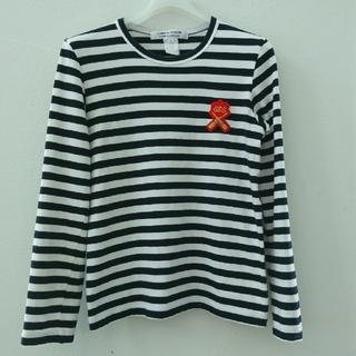 COMME des GARCONS - コムデギャルソン ボーダー 長袖Tシャツ