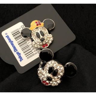 Disney - Disney リング 指輪 ミッキーマウス キラキラアクセサリー
