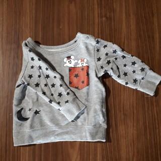 ミッキーマウス(ミッキーマウス)のオバケミッキー90センチ(Tシャツ/カットソー)